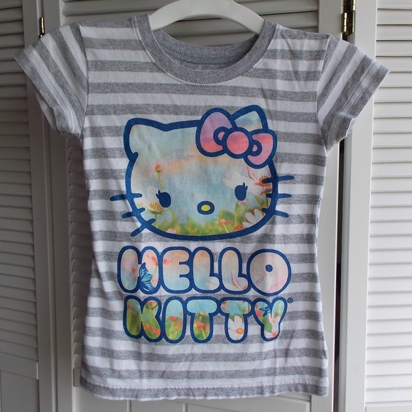 Hello Kitty Other - Hello Kitty Girl's Cute Tee Size XS 4/5